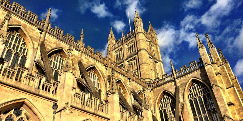 Bath Abbey by J.F.Penn