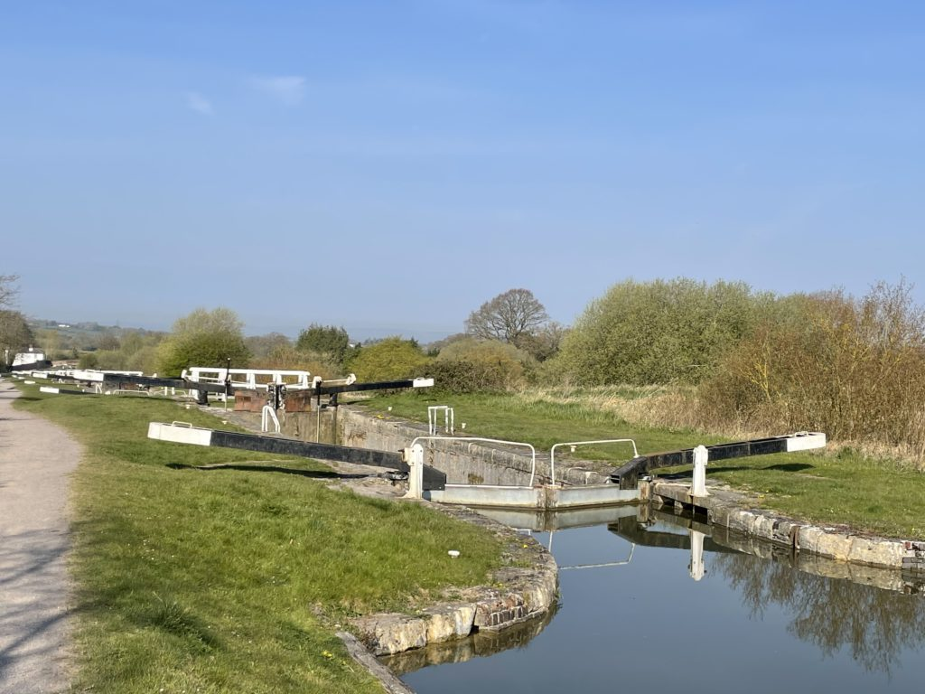 Canal Locks at Devizes Photo by JFPenn